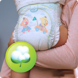 Couches Pampers Baby Dry sont douces comme le coton